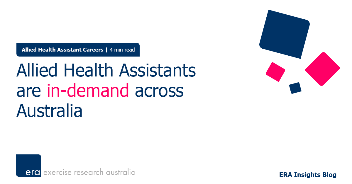 Allied Health Assistants are in-demand across Australia
