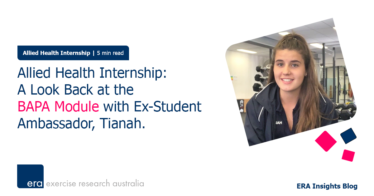 Allied Health Internship: A Look Back at the BAPA Module with Ex-Student Ambassador, Tianah.