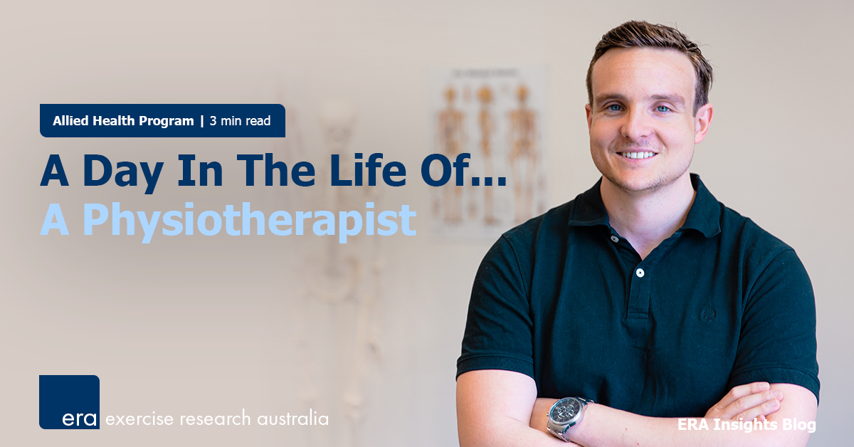 A Day In The Life Of... A Physiotherapist